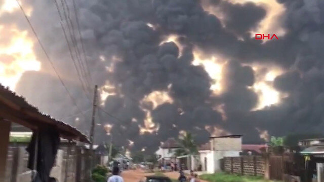 Nijerya'da boru hattında büyük patlama