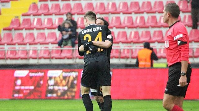 Kayserispor-Manisa FK: 3-2