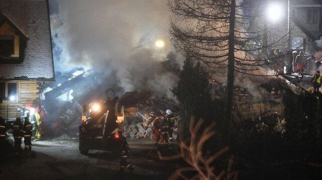 Polonya'daki bir evde gaz patlaması: 4 hayatını kaybetti