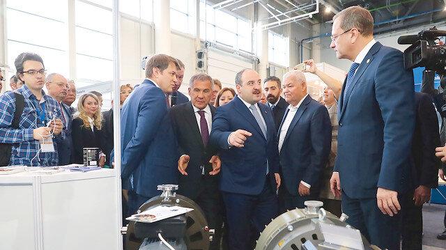 Tataristan ile hedef 1 milyar $'lık ticaret