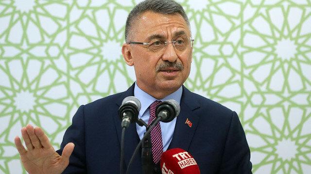 Turkish vice president Fuat Oktay
