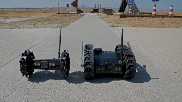 Üç tip Hafif Sınıf İnsansız Kara Aracı prototipi yerli olarak geliştirildi