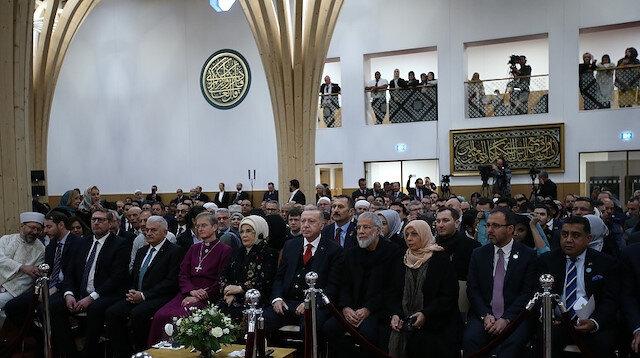 بحضور أردوغان.. افتتاح مسجد كامبريدج في بريطانيا