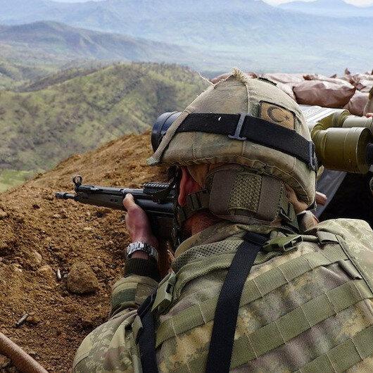 Ağrı'nın Tutak ilçesinde silahlı 4 terörist etkisiz hale getirildi