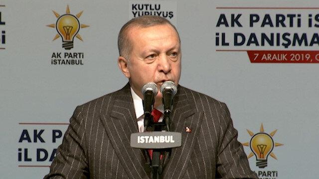 Cumhurbaşkanı: Bu gemilere bu paraları boşuna vermedik