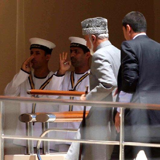 السلطان قابوس يسافر إلى بلجيكا لإجراء فحوصات طبية