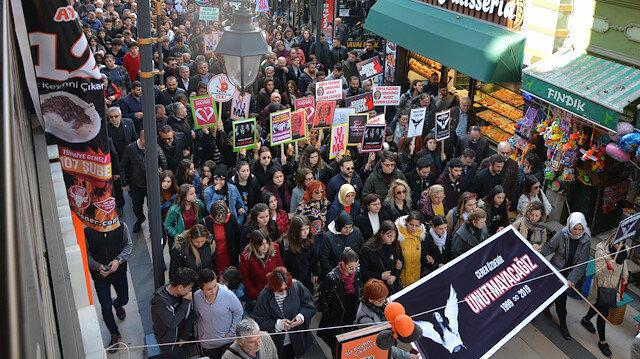 Ordulular Ceren Özdemir için toplandı: Sessiz kalma, suça ortak olma