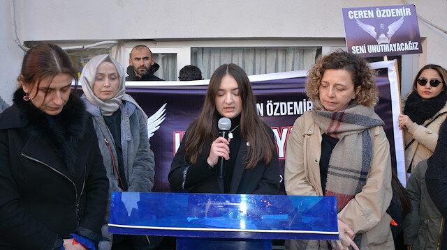 Vahşice katledilen Ceren Özdemir'in arkadaşı Eftalya Hazar'ın duygulandıran konuşması