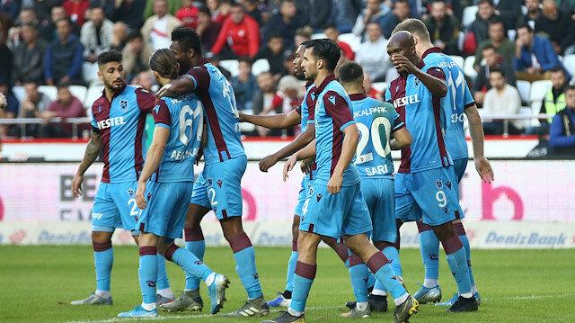 Antalyaspor-Trabzonspor: 1-3