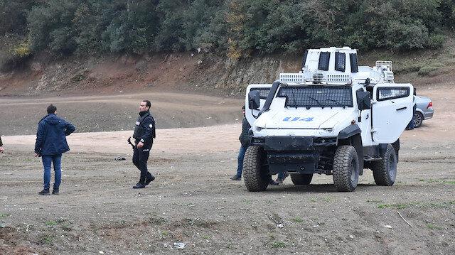 Define avcılarının hedefi olan tarihi Güzelce Kemerine polisten devriye önlemi
