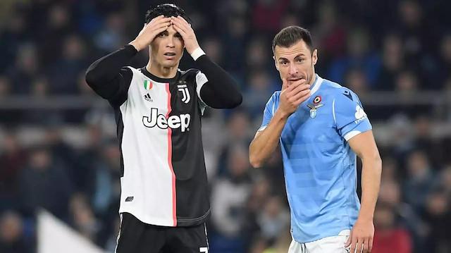 Ronaldo kaybedilen maçın ardından büyük üzüntü yaşadı.