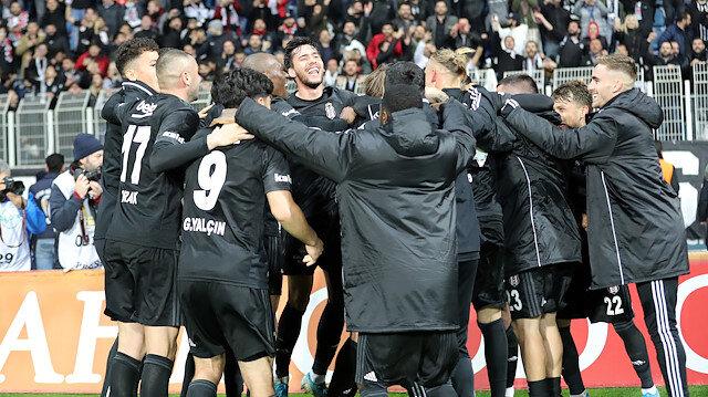 Beşiktaş durdurulamıyor