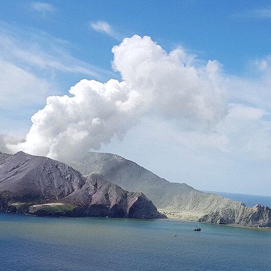 Yeni Zelanda'daki Whaakari Yanardağı patlaması: 8 kişiye ulaşılamayan Beyaz Ada'da herhangi bir hayat belirtisi yok