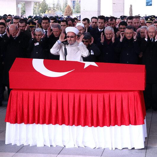 Bingöl'de gözetleme kulesinden düşerek şehit olan astsubay Halil Ulaş Yıldırım için cenaze töreni düzenlendi