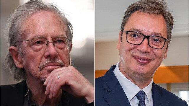 Serbian president congratulates Handke over Nobel Prize