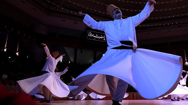 Whirling Dervishes of Rumi