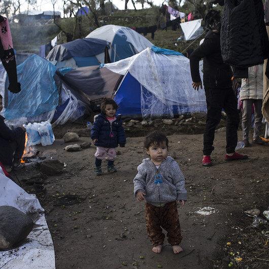 Midilli Adası'nda göçmenlerin yaşam mücadelesi: Yazlık çadırlarda kalıyorlar