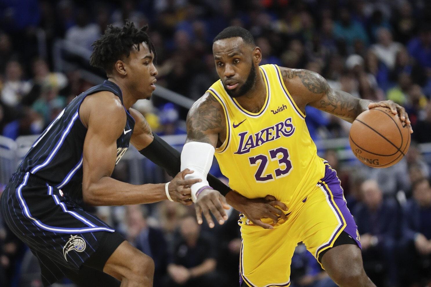 Los Angeles Lakers bu sezon 22. galibiyetini elde etti.