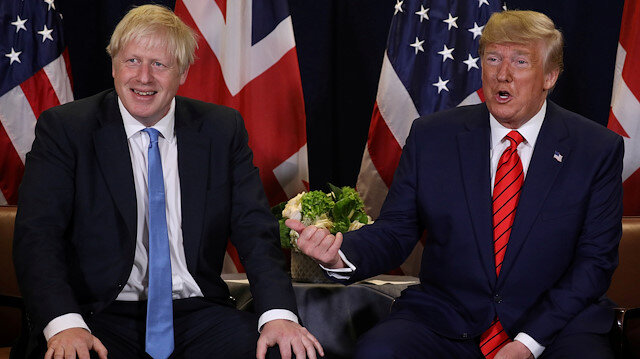 Trump celebrates UK's Johnson, eyes major trade deal