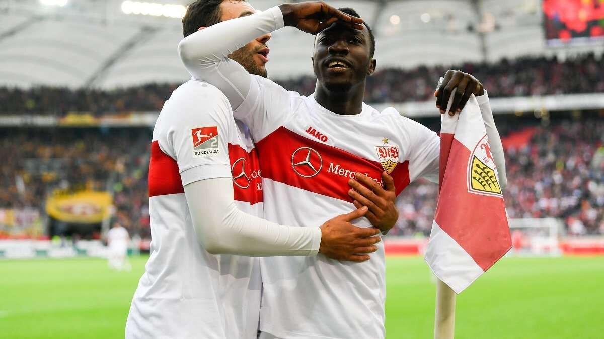 Silas Wamangituka, bu sezon Bundesliga 2'de çıktığı 12 maçta 4 gol atarken 1 de asist yaptı.