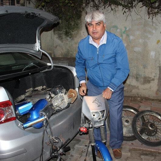 Sahibi unuttu polis unutmadı: İmamın çalınan motosikleti 14 yıl sonra bulundu