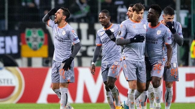 M'Gladbach-Başakşehir: 1-2