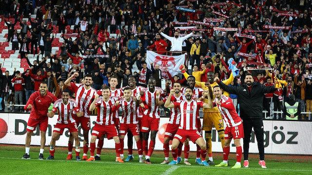 Sivasspor'dan kombine rekoru