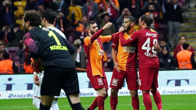 Galatasaray bu sezon 5. kez penaltıdan gol buldu