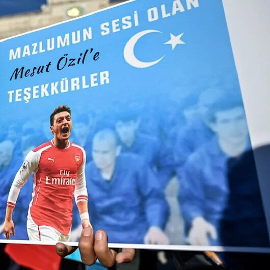 Chinese TV network refuses to air Arsenal match after Özil defends Uyghur Muslims