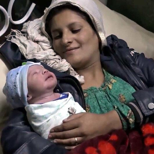 """Harekatın """"Pınar""""ından sonra """"Barış""""ı da dünyaya geldi: Rasulayn'da doğan bebeğe """"Barış"""" adı verildi"""