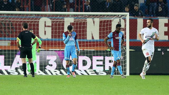 Trabzonsporluları kahreden 14 puan
