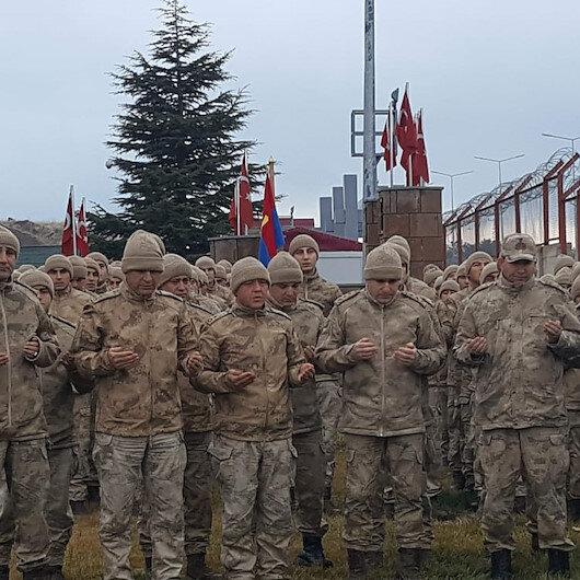 Kıran 8 operasyonuna katılacak Mehmetçik operasyon bölgesine dualarla uğurlandı