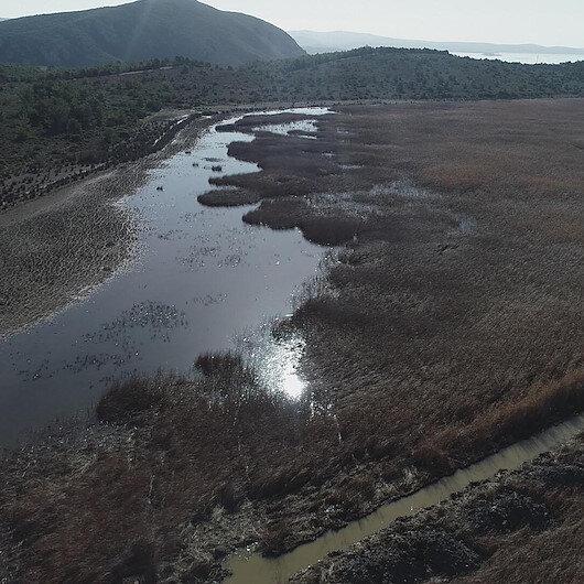 İzmir'in 'Dipsiz Göl'ü' İris  eski haline getirilecek