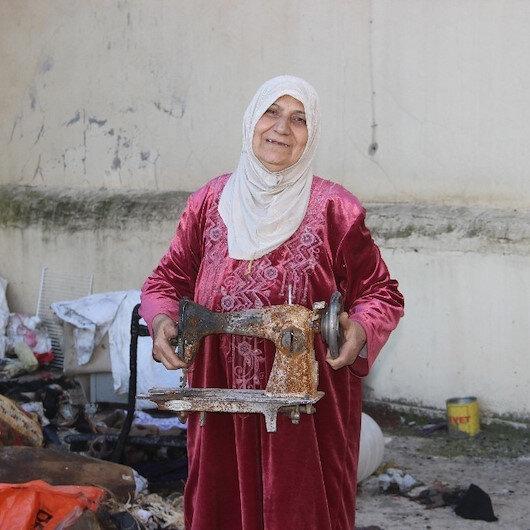 Emanet aldığı para ve altın yangında küle döndü: Hayırseverlerden yardım bekliyorlar