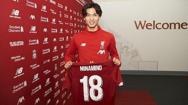 Japon forvet Minamino resmen Liverpool'da