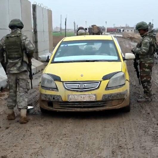 MSB: Tel Abyad'da yol kontrol noktası inşası tamamlandı