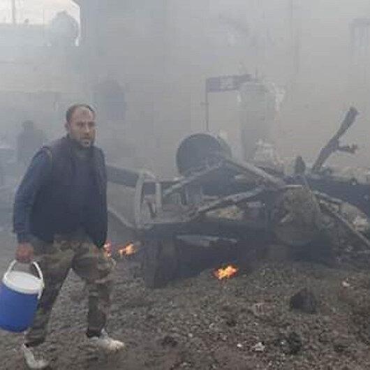 PKK kanlı ellerini Tel Abyad'dan çekmiyor: Bomba yüklü araçtaki saldırıda 1 kişi hayatını kaybetti, 3 yaralandı