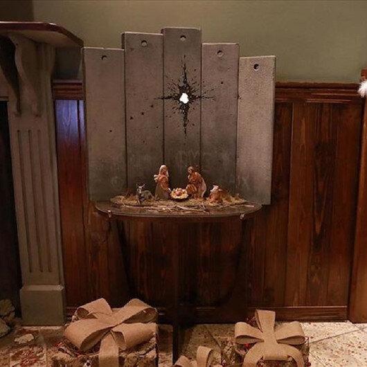"""""""جرح بيت لحم"""".. لوحة لـ""""بانسكي"""" بمناسبة أعياد الميلاد"""