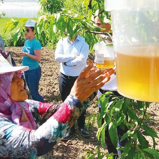 Denizli'de tarıma organik destek