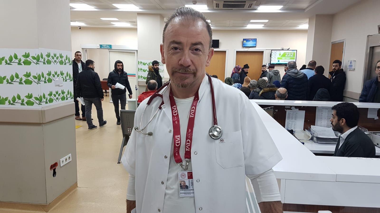 Şişli Hamidiye Etfal Eğitim Araştırma Hastanesi Acil Tıp Uzmanı Dr. Özgür Çevim