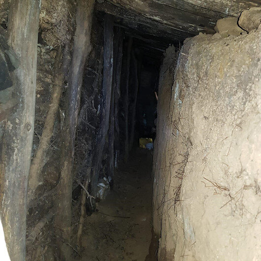 'Kıran-8 Sehi Ormanları' operasyonunda 10 odalı PKK sığınağı bulundu