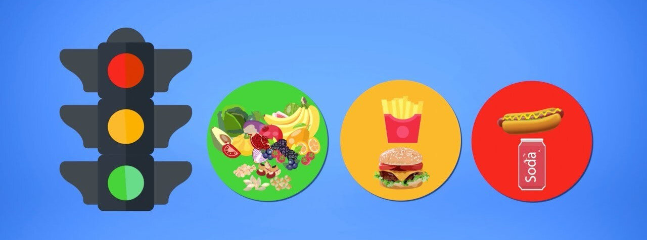 Gıdada trafik ışığı uygulaması ile katkı oranlarına göre etiketlerde renkler yer alıyor.