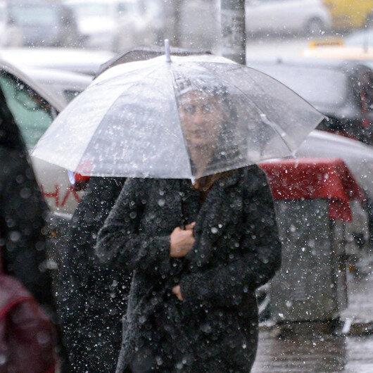 Meteoroloji son hava durumu tahminlerini açıkladı: 70 ile yağış uyarısı yapıldı