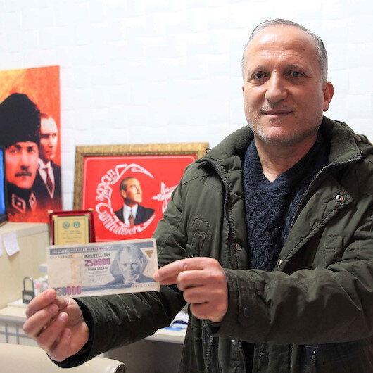Atatürk resmindeki detayı gördü ve 17 yıldır saklıyor: 250 bin TL'ye satışa çıkardı