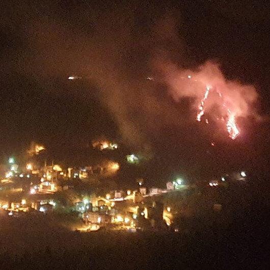 Trabzon'daki örtü yangınlarıyla ilgili 7 kişi hakkında soruşturma başlatıldı