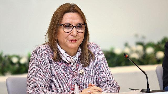 Turkey's Trade Minister Ruhsar Pekcan in Baku