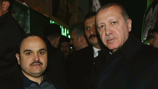 Turkish President Recep Tayyip Erdoğan and Turkish watchmaker Hilmi Uysal