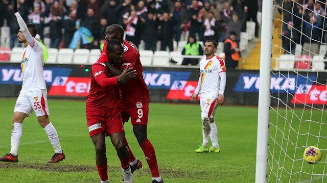 Sivasspor-Göztepe: 1-0
