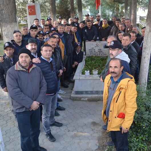 Türkiye'ye örnek vefa: Silah arkadaşları 23 yıldır şehidini unutmadı