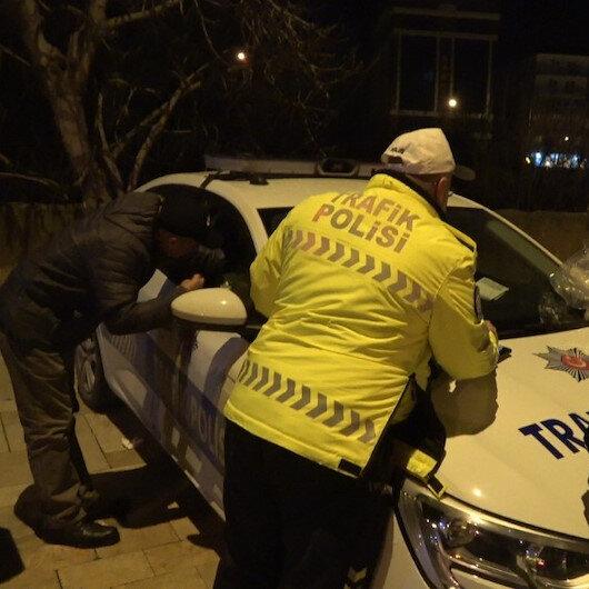 Alkollü araç kullanırken yakalandı, 'Ben Türk delikanlısıyım' dedi